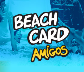 Beach Card Amigos